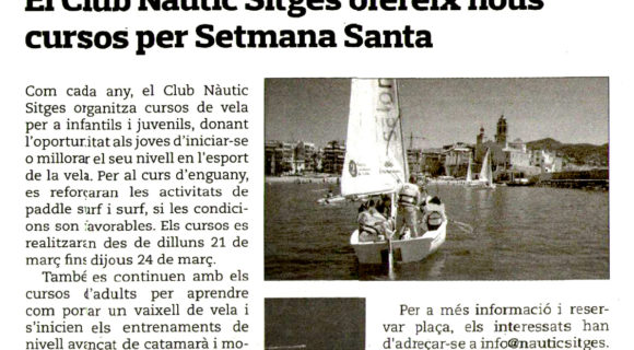 Notícia Eco de Sitges