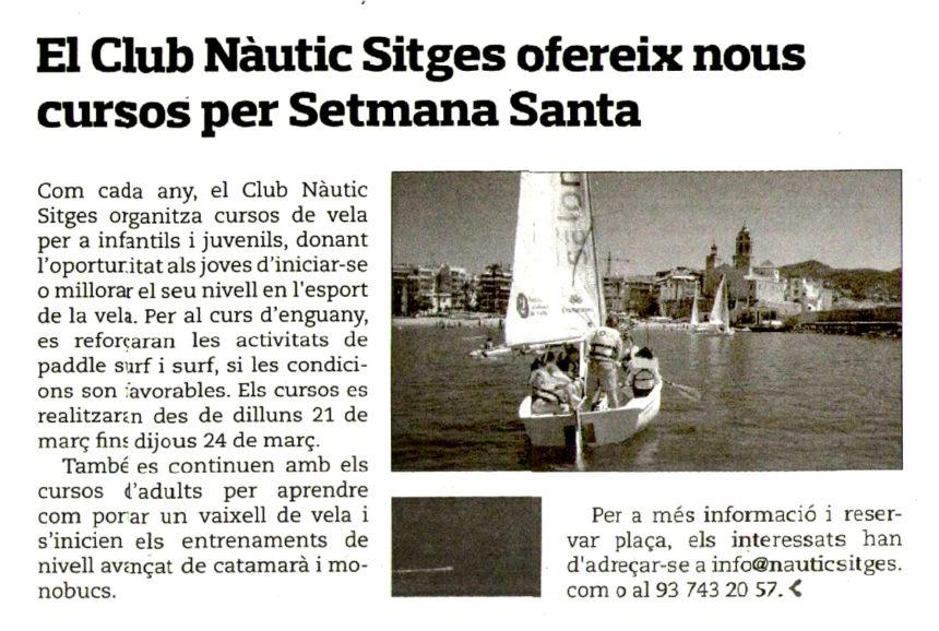 Noticia Eco de Sitges
