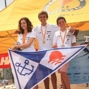 El Club Nàutic de Sitges arrasa al Campionat de Catalunya de Patí Junior