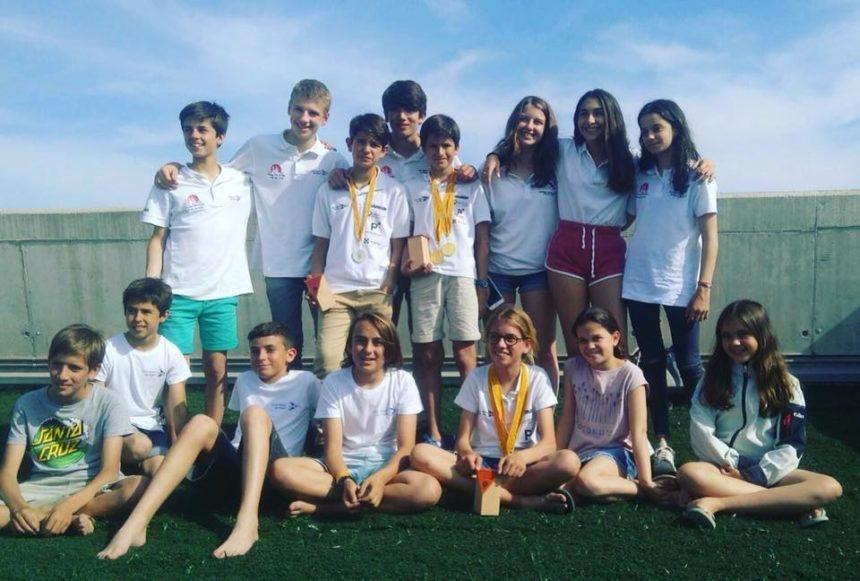 Exits dels nostres navegants als Campionats de Catalunya de Patí Junior i Catamarans