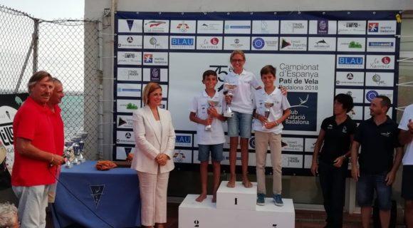 Els nostres regatistes del Club Nàutic de Sitges tornen a arrasar al Campionat d'Espanya de Patí Junior
