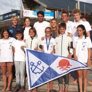 Oriol Mahiques del Club Nàutic de Sitges, guanya l'Europeu de Patí a Vela cel·lebrat a Bélgica. Leo Andreoli i Mar Vilardell també del Nàutic Sitges, segón i tercer en categoria Junior.
