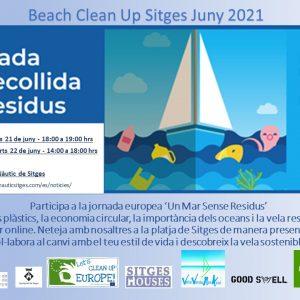 Jornada de limpieza de playa